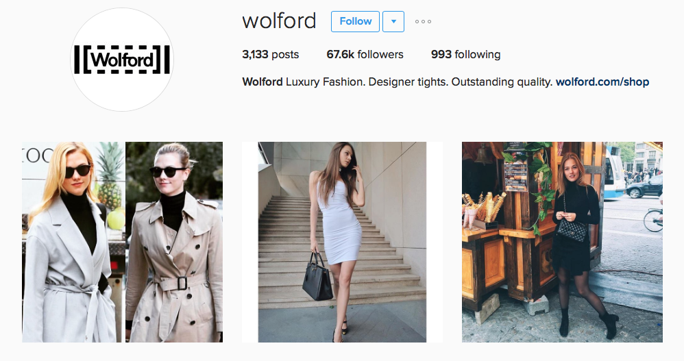Fashion blogger model Tanya She for Wolford on She World 5
