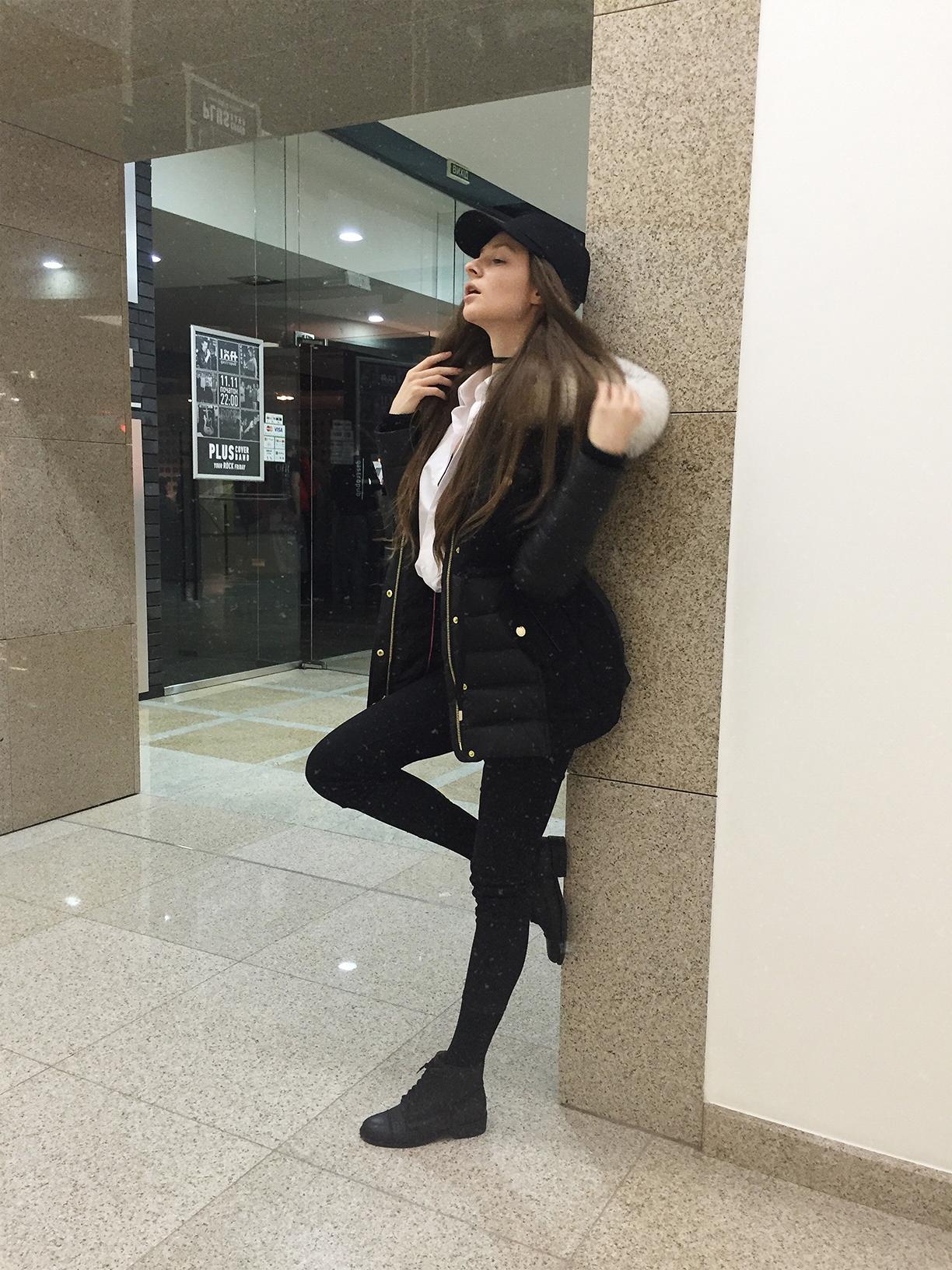 Fashion blogger model Tanya She Snow Queen 2